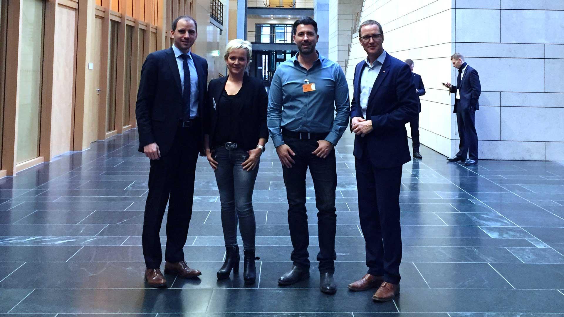 Zu Gast im Bundestag